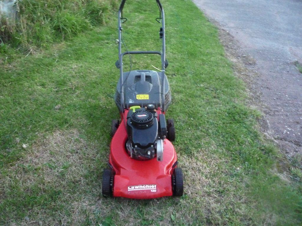 Petrol Mower Lawn Chief 420 Model 16inch Cut With Gr Box 80 00