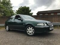 Rover 45 Impression Years Mot With No Advisorys Low Miles Drives Great Cheap Car !!!
