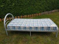 Single bed (£20) + Mattress (free)