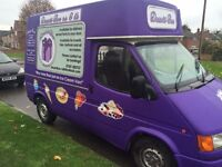 Ice Cream Van fitted with gas and battery inverters
