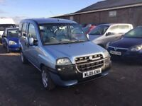 2005 FIAT DOBLO 7 SEATER MPV DIESEL VEHICLE IN VGCONDITION LOVELY DRIVER ECONOMICAL FAMILY CAR PX ?
