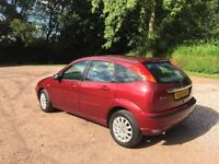 Ford Focus 1.6 Zetec automatic genuine 59941 owned by same family mot February 2017 no advisories