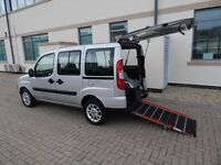 2010 60 Plate Fiat Doblo 1.4 Dynamic Wheelchair Accessible Vehicle Ramp 1 Owner FINANCE AVAILABLE