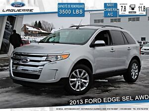 2013 Ford Edge **SEL*AWD*NAVI*CAMERA*CRUISE*A/C**