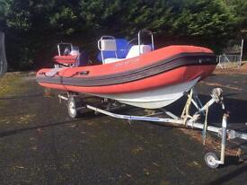 4.5m rib boat