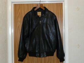Leather Jacket black, new never worn
