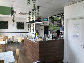 ATTRACTIVE CAFE FOR SALE IN RUSHDEN-NORTHAMPTONSHIRE