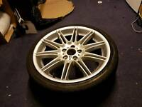"19"" 8J BMW MV4 225M Alloy Wheel Tyre E92"