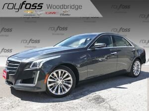 2016 Cadillac CTS 3.6L Luxury SUNROOF, NAV, VENTED SEATS