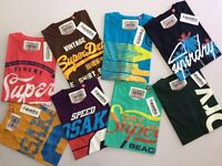 Superdry Men's Round Neck T-Shirt With High Quality Print WHOLESALE ONLY