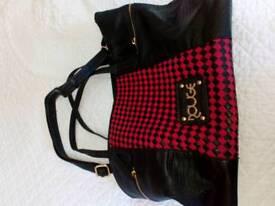 Ladies designer shopping bag used once