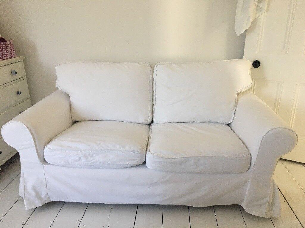 Ikea Rp 2 Seater Sofa In White