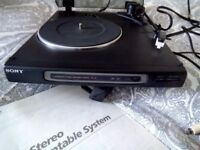 SONY RECORD PLAYER/TURNTABLE, EXCELLENT CONDITION