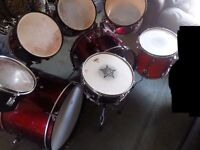 Double Bass Drum Kit