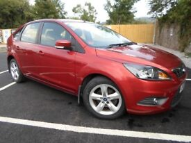 GREAT LOW MILAGE FOCUS 1.6 PETROL ZETEC 5 DOOR WITH LOW MILAGE,SERVICE HISTORY AND 12 MONTHS MOT