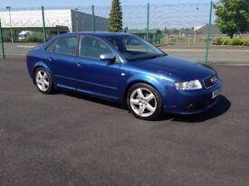 2004 Audi A4 TDI SPORT 130 BHP FULL MOT.....