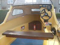 Fishing Boat. 15ft Bonwitco with. Fishing boat