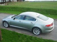 Jaguar XF 2.2 diesel 190 bhp Sport, Superb condition Cashmire Gold with cream and walnut Interior