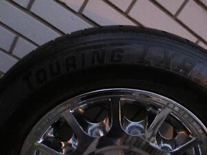 4 -1996-1997 Original Sable & Taurus Chrome Rims with Tires Cambridge Kitchener Area image 8