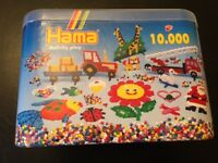 HAMA beads, 10,000 beads in 10 different colours