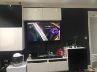 Ikea besta floating tv units