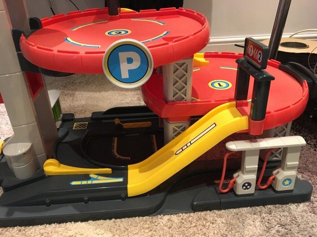 Elc Big City Car Garage With Sounds Amp Kids Mega Road Map Playmat Rug In Coatbridge North