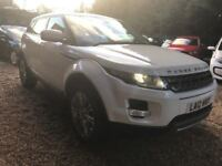 Land Rover Range Rover Evoque 2.2 SD4 Pure AWD 5dr£16,995 p/x welcome FREE WARRANTY, NEW MOT