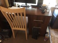 2 Door Wardrobe, Desk, and 4 Drawer Chest of Drawers Set £100
