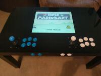 Retro gaming arcade table. 8000 games