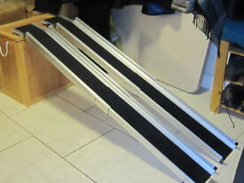 Wheel chair ramps. Brand new - never used.