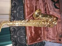 Saxaphone for Sale with case.