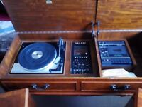 Dynatron radiogram for sale. 1960's. Good working condition. Lovely sound. Garrard turntable. £30