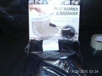 Brand new footwarmer and massager