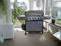 Brand New & Unused Stainless Steel 6 Burner Barbecue