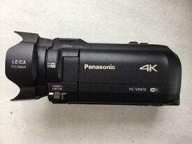 4K Panasonic Video Camera - HC-VX870