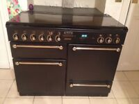 Rangemaster Leisure 110 Gourmet Black