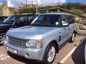 Range Rover HSE low mileage, beautiful condition.