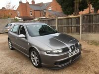 SEAT LEON 1.9 TDI 150 FR, FULLY SERVICED, FULL SERVICE HISTORY, TWO KEYS, DRIVES VERY WELL