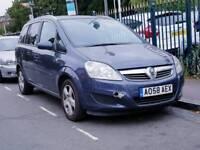 7 Seater -- Vauxhall Zafira 1.9 CDTi -- CHEAP on Fuel -- alike toyota verso Ford galaxy