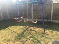 See Saw and swings outdoor set