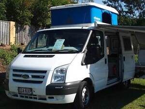 Ford Transit Poptop Campervan 2008 Sandstone Point Caboolture Area Preview