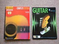 Hal Leonard Guitar Method Complete Edition & Rockschool Guitar Grade 3