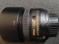 Nikon 50mm AF-S f/1.4 G Lens