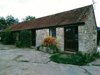 To let, in the Chew Valley. Spacious 2 bed Barn conversion.
