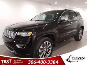 2018 Jeep Grand Cherokee Overland|4X4|Leather|Cam|NAV|Sunroof
