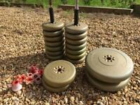 Weights and dumbell bundle
