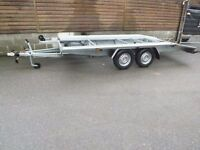 NEW CAR TRANSPORTER RECOVERY TRAILER 2700KG GVW 14,8 FEET(4,5m)LONG £2050 LOADING SPACE LENTH