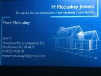 M Mccluskey - Joiners / Builders - New builds- house extensions- attic conversions.