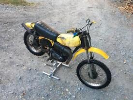 Yamaha yz 80 b classic evo twin shock project