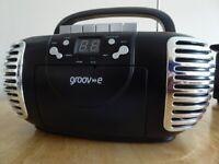 Groove CD/Cassette/ Radio